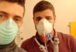 Cristian Fracassi et Alessandro Ramaioli, les deux volontaires ayant imprimé les valves en 3D pour sauver des madales du coronavirus dans un hôpital