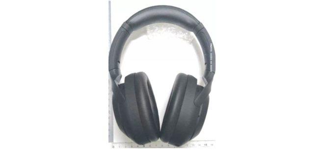 image technique du casque audio Sony WH-1000XM4 - vue de face