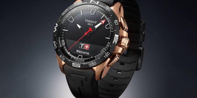 montre connectée Tissot T-Touch Connect Solar de swatch