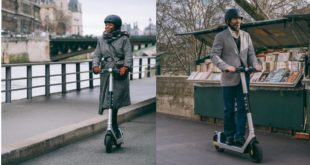 utilsateurs de la trotinnette éectrique bird two à Paris