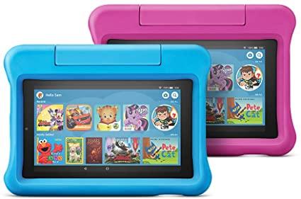 Amazon Fire 7 Kids Edition, tablettes pas chères pour enfants, confinement