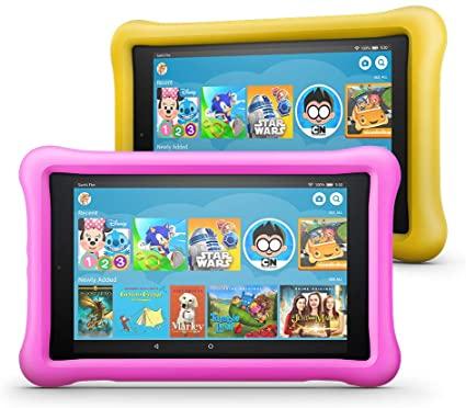 Amazon Fire HD Kids Edition, tablettes pas chères pour enfants, confinement