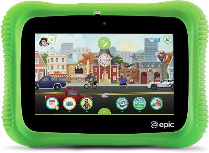 Leapfrog Epic, tablettes pas chères pour enfants, confinement