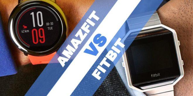 fitbit vs amazfit
