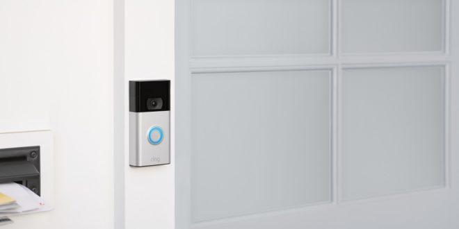 sonnette connectée ring video doorbell 2020