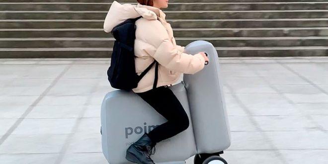 Poimo, le vélo électrique gonflable