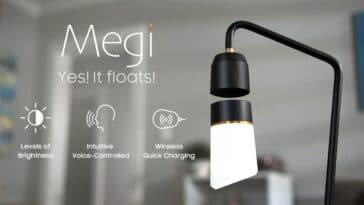 lampe connectée Megi Floating Lamp, ampoule