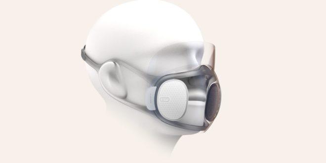 Amazfit Aeri : le masque transparent et autodésinfectant de Huami