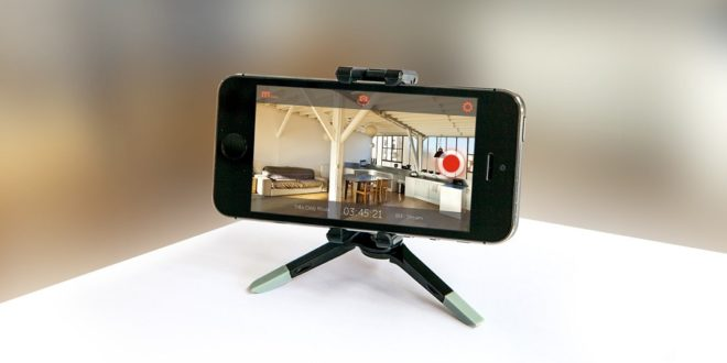 smartphone as security camera