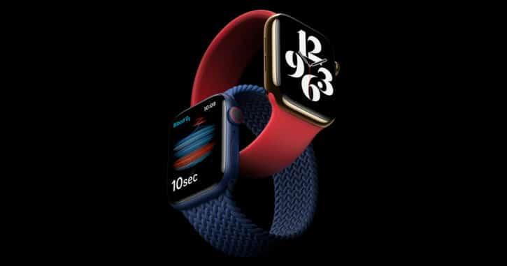 Apple Watch Series 6 cadeau des fêtes des pères
