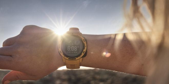 montres garmin charge solaire