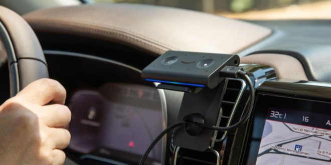 boîtier Amazon Echo Auto