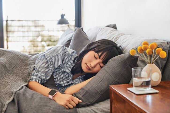 suivi sommeil fitbit versa 2