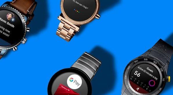 montre connectée Google wear os