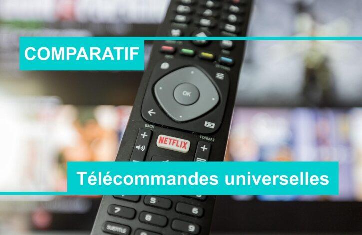 COMPARATIF meilleure télécommande universelle
