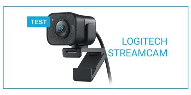 TEST Logitech streamcam