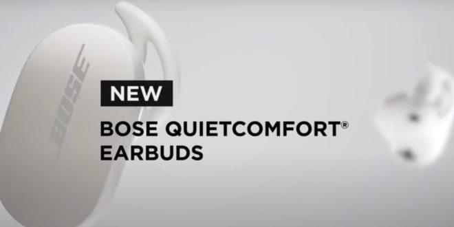 écouteus sans fil bose quietcomfort earbuds