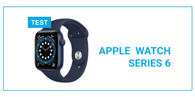 TEST apple watch series 6