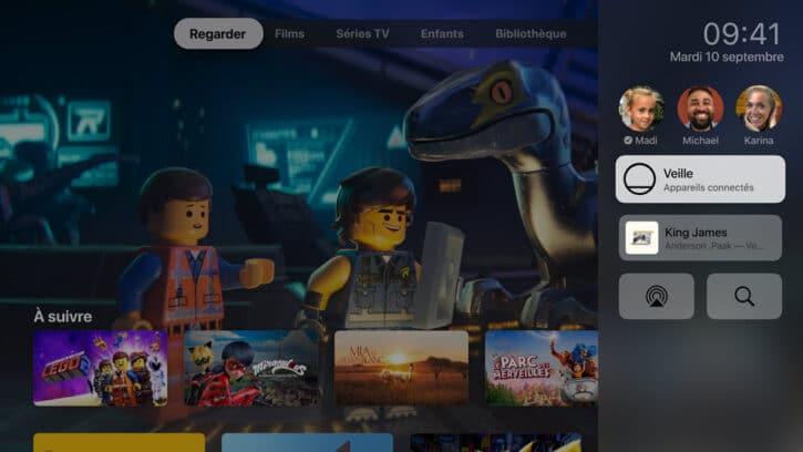 interface apple tv 4K