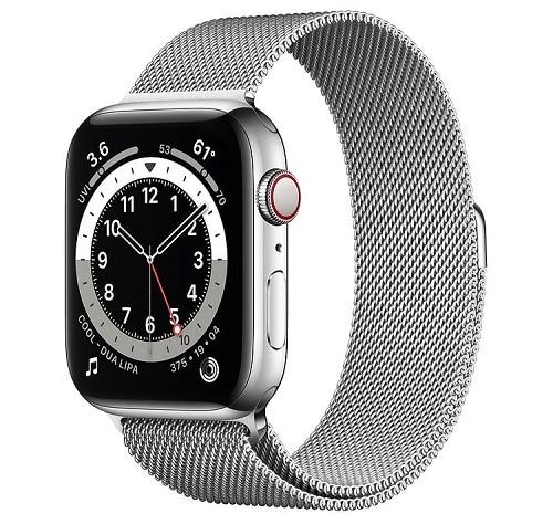 montre connectée apple watch series 6 pour femme
