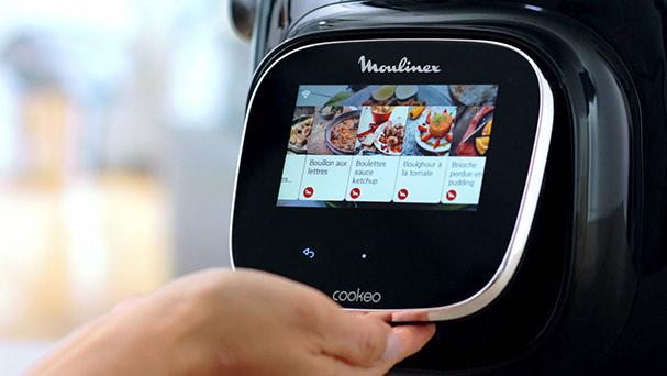 moulinex cookeo touch avec écran tactile