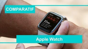 comparatif meilleure apple watch