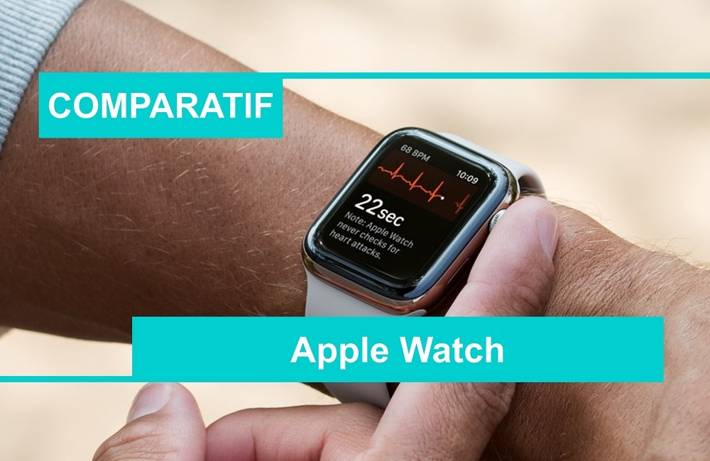 comparatif meilleure apple watch