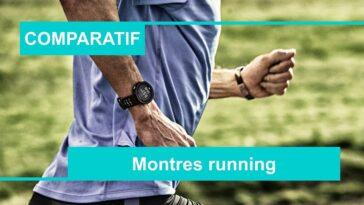 comparatif meilleure montre running