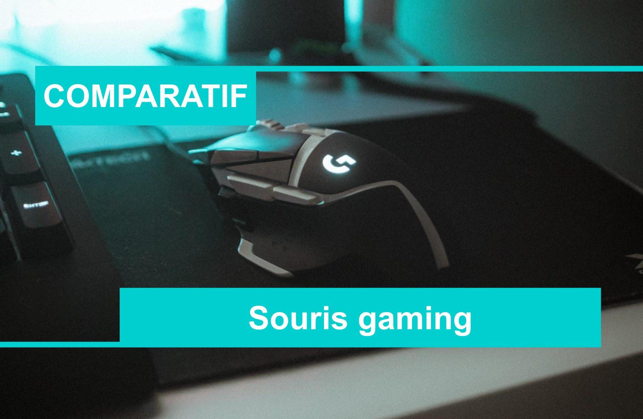 COMPARATIF meilleure souris gaming