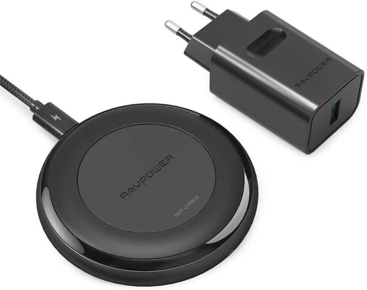 meilleur chargeur sans fil RaVPower Alpha Series Fast Charge