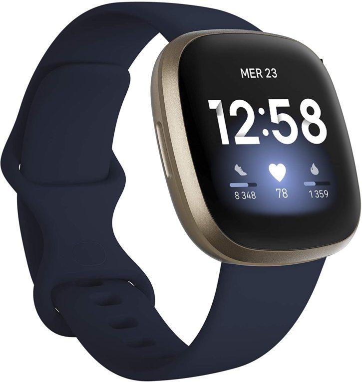 Fitbit versa 3 meilleure montre connectée homme