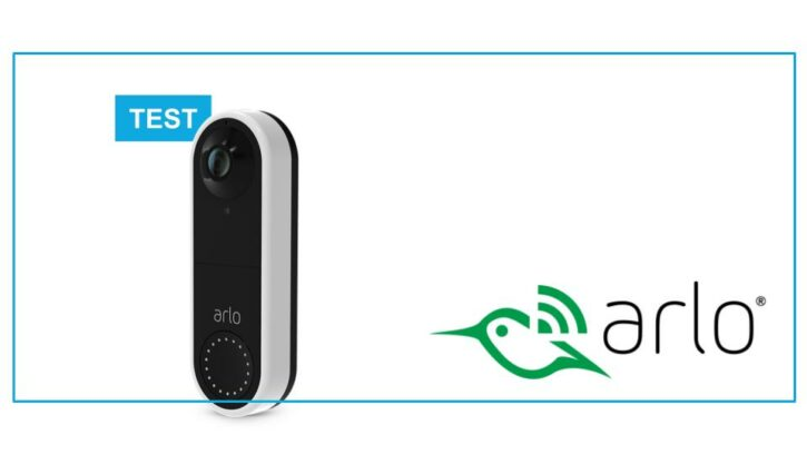 test Arlo Video Doorbell