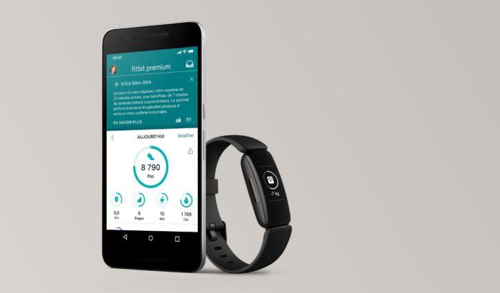 fonctionnalités premium FItbit Inspire 2