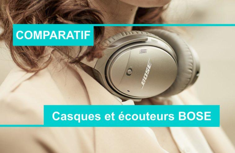 Meilleur écouteurs et casque Bose