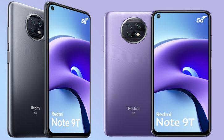 design Redmi Note 9T