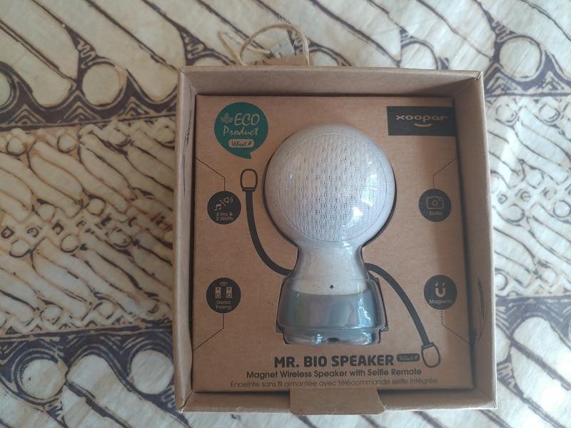 test mr bio speaker unboxing