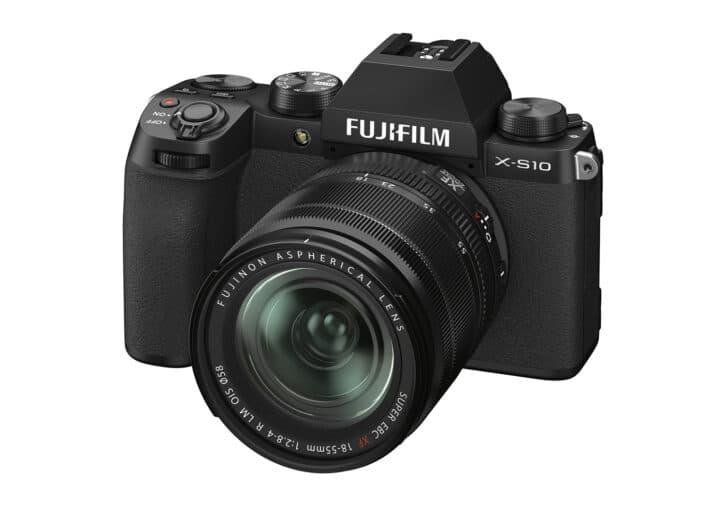 meilleur appareil photo Fujifilm X-S10