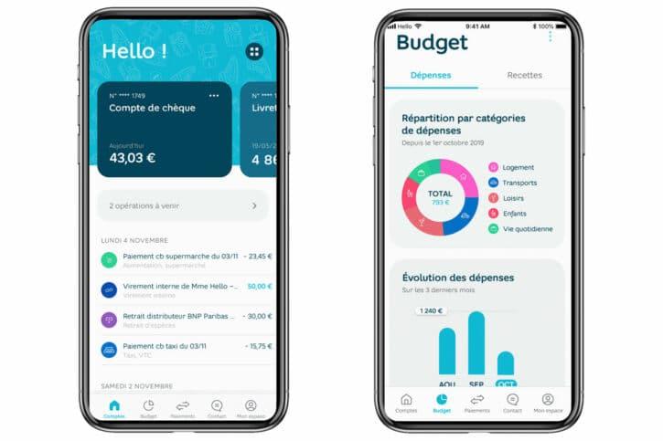 interface hello bank