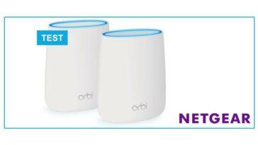 test Netgear Orbi RBK20