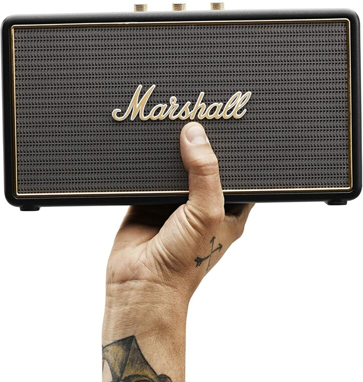 Marshall Stockwell : une enceinte portable