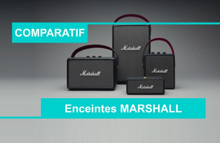 Comparatif meilleure enciente Marshall
