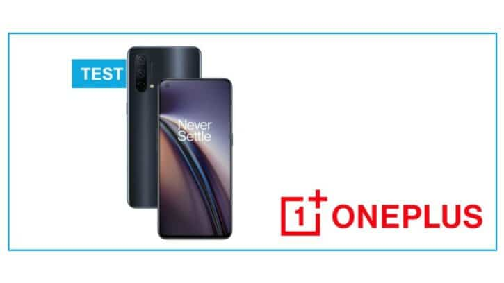 test OnePlus Nord CE