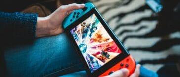 console de jeu Nintendo switch