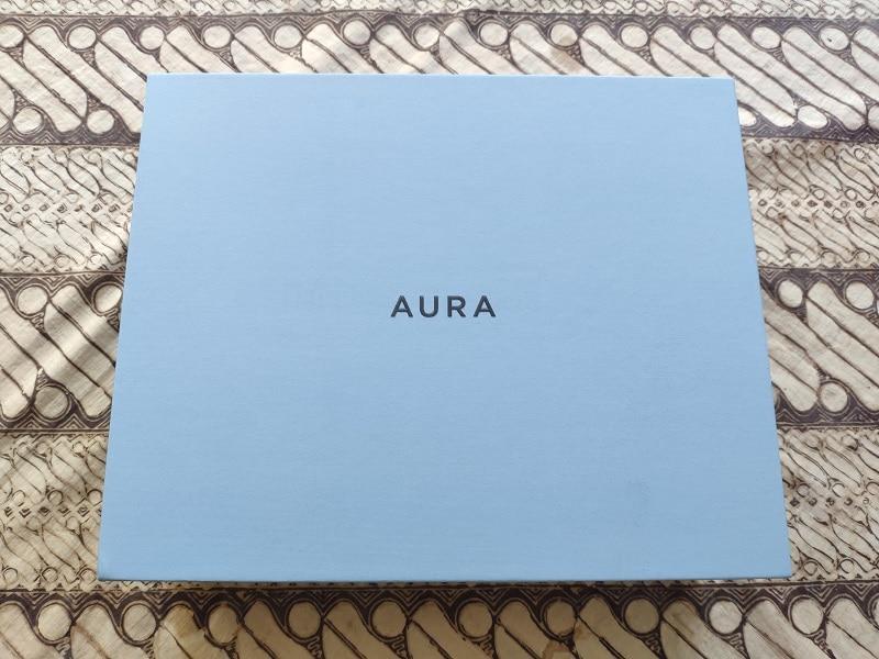 test aura frames unbox