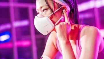 lg masque purificateur d'air