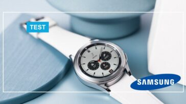 test de la Samsung Galaxy Watch 4