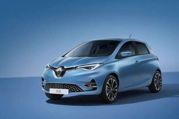 Voiture électrique Renault ZOE