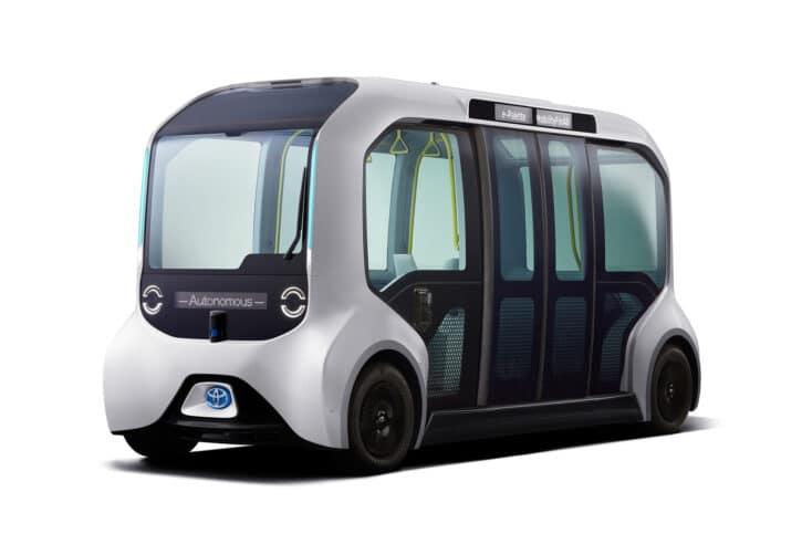 e-Palette bus autonome de Toyota