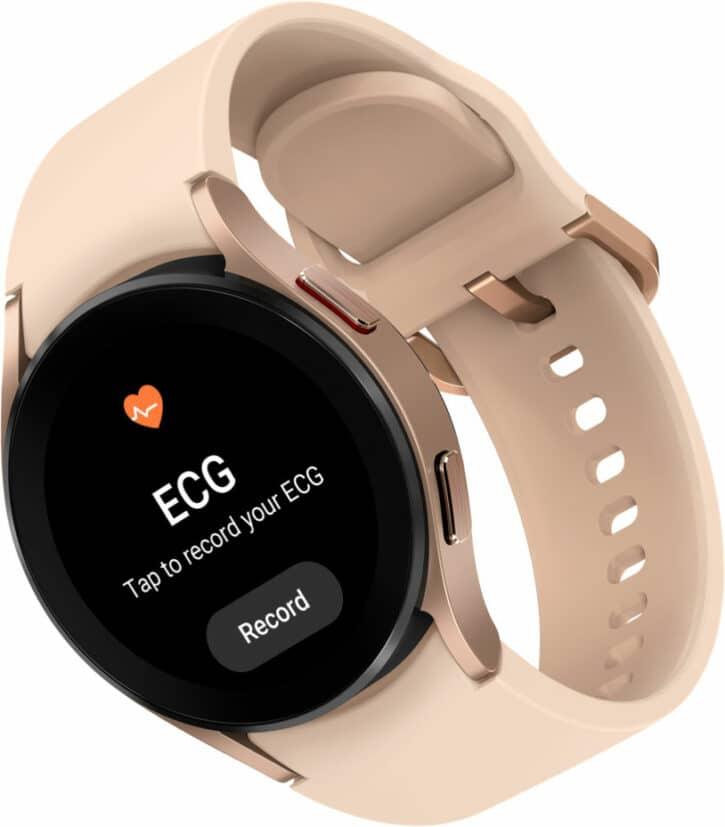 les fonctionnalités de la montre connectée Samsung Galaxy Watch 4