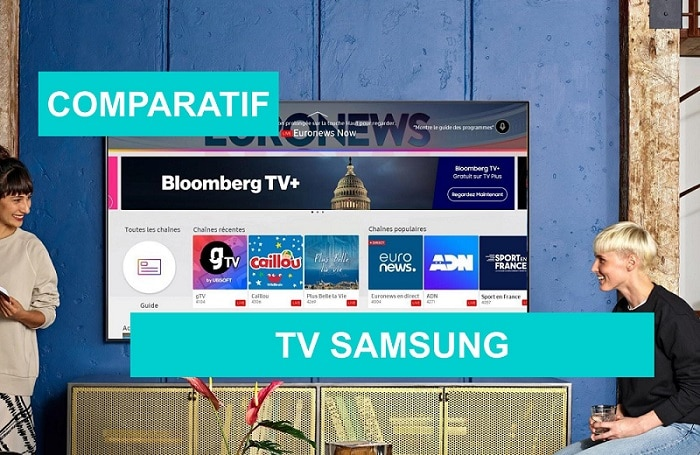 COMPARATIF tv samsung